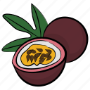 food, fruit, healthy fruit, plum, prune fruit icon