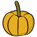 cantaloupe, food, fruit, melon, yellow melon icon