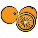 food, fruit, juicy fruit, lemon, lime icon