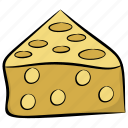 cheese, cheese block, cheese slice, dairy product, food