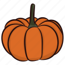 butternut, food, halloween vegetable, pumpkin, vegetable icon