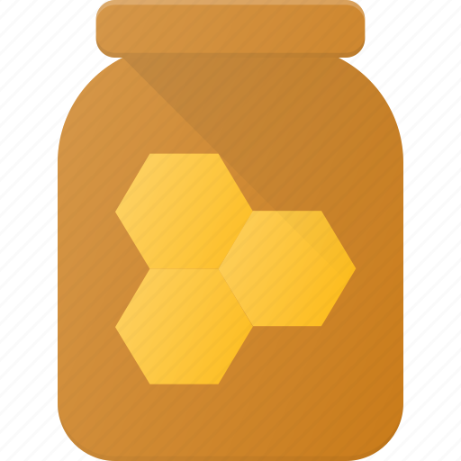 eat, food, honey, jar icon