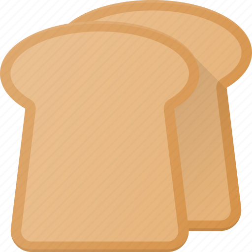 Bread, eat, food, toast icon - Download on Iconfinder