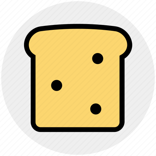 bread, breakfast, cooking, food, lunch, sandwich, toast icon