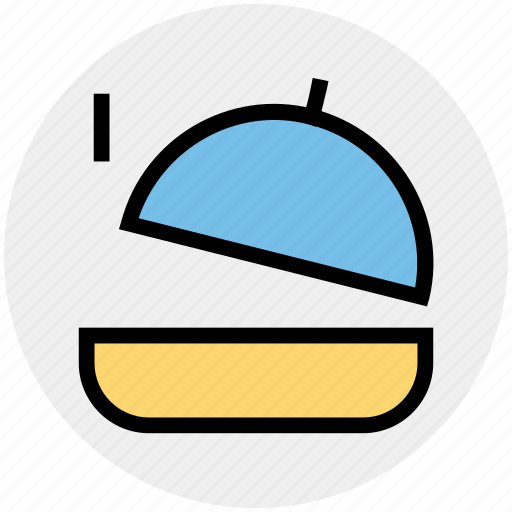 cooking, dome, food, kitchen, restaurant icon