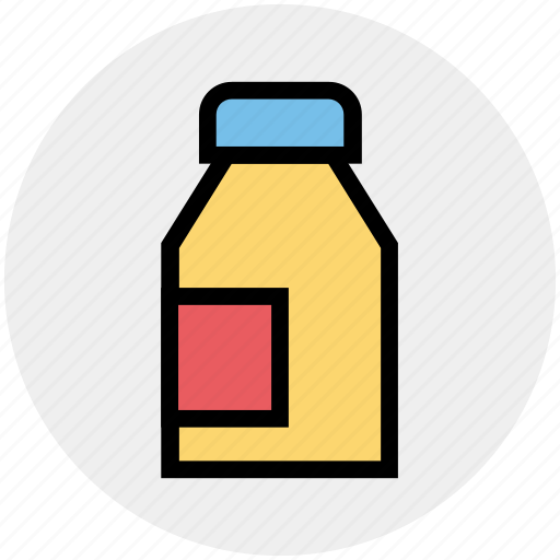 breakfast, can, cooking, kitchen, milk, water icon