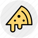 cheese, fast food, food, italian, pizza, pizza slice, slice icon