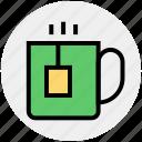 coffee, cup, hot coffee, hot tea, mug, tea