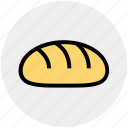bread, breakfast, dinner, eating, food, restaurant, sandwich icon