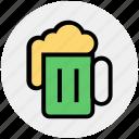 alcohol, bar, beer, drinking, food, mug, tankard icon