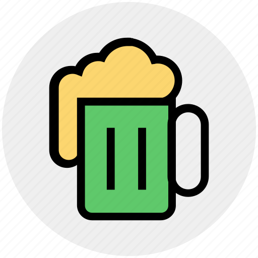 alcohol, bar, beer, drinking, food, mug, tankard icon