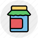box, eat, food, food package, meal, meat, package icon