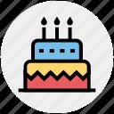 birthday cake, cake, wedding cake, food, celebration
