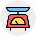 equipment, kitchen, kitchenware, scale, weight icon