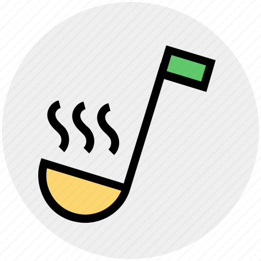food, kitchen, ladle, soup taste, spoon, taste, utensil icon