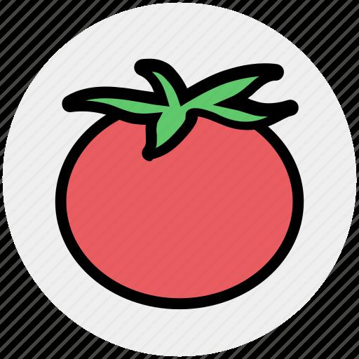 berry, food, red, tomato, vegan, vegetables, vegetarian icon