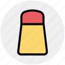 food, pepper, pepper shaker, pouring salt, salt, salt shaker, spice icon