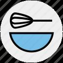 beater, bowl, egg, food, hand beater, hand mixer, mixer
