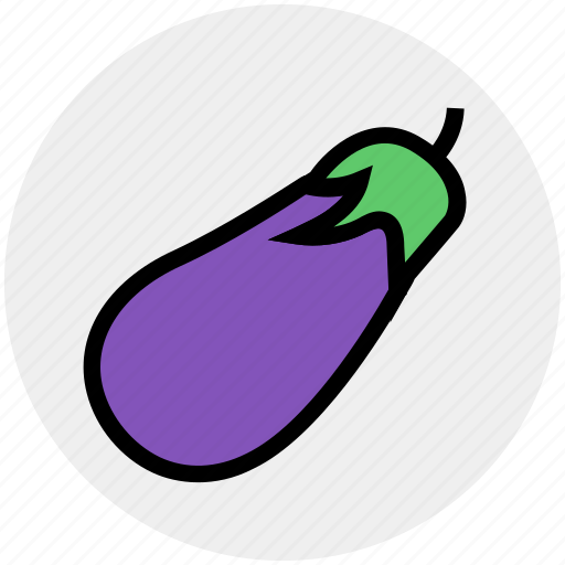brinjil, delicious, eggplant, food, vegetables icon