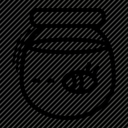 food, honey, jar, sweet icon