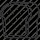 baker, bakery, bread, dessert, food icon