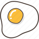 breakfast, egg, food, fried, omelette, scramble icon