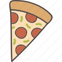 food, pizza, slice icon