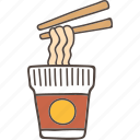 cup, instant, japanese, korean, noodle icon