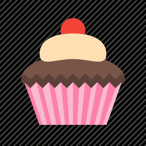 Cupcake, dessert, food icon - Download on Iconfinder
