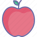 apple, food, fruit, healthy food icon