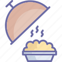 chef platter, food platter, food serving, platter icon