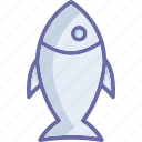 fish, food, healthy food, raw fish icon