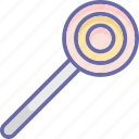confectionery, lollipop, lolly, sweet snack icon