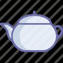 dishware, kitchen accessories, tea kettle, tea pot icon
