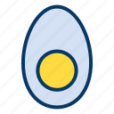 dish, egg, food, restaurant icon