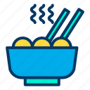 bowl, chinese, dish, food, noodles, restaurant icon
