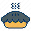 cooking, dish, food, pie, restaurant icon