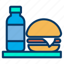 coffee, dish, drink, food, restaurant, takeout icon