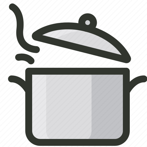 cooking, food, hot, pot icon