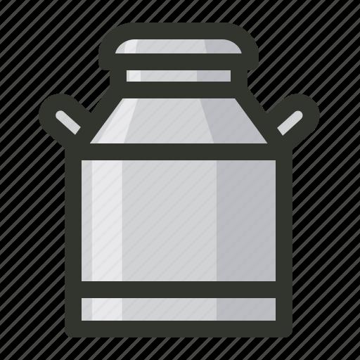 aluminium, can, container, dairy, milk icon