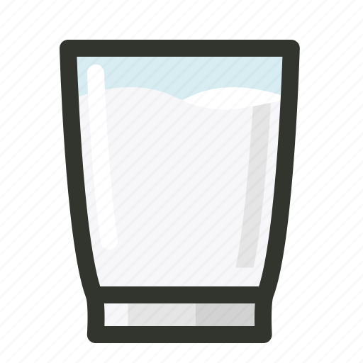 breakfast, calcium, cup, dairy, food, glass, milk icon