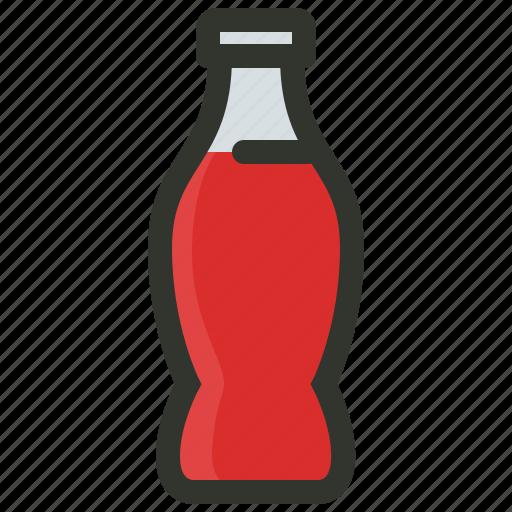 Beverage, bottle, coke, cola, drink, soda, soft icon ...