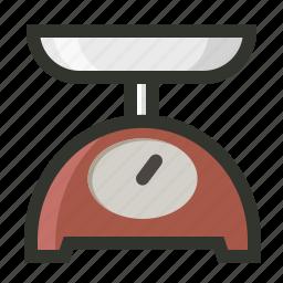 gadget, kitchen, machine, scale, weight icon