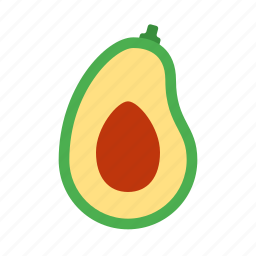 avocado, fresh, fruit, healthy, organic, salad, vegetable icon