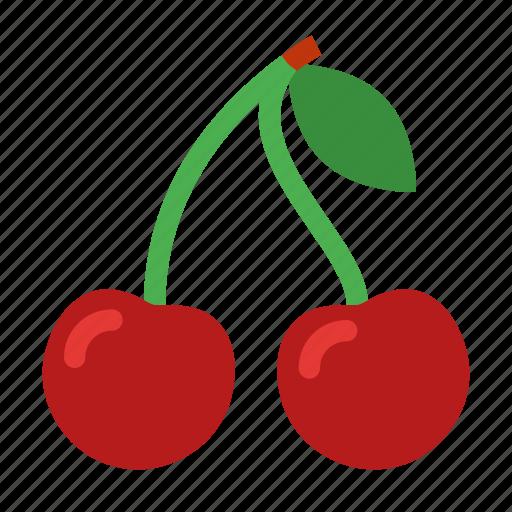 berry, cherry, food, fresh, healthy, organic, sweet icon