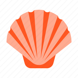 clam, ocean, oyster, seafood, seashell, shell, shellfish icon