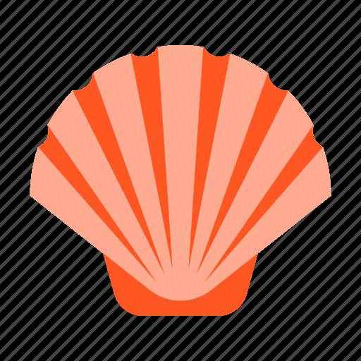 clam, seafood, seashell, shell, shellfish icon