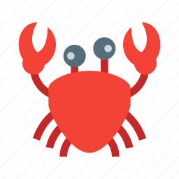 cancer, crab, food, ocean, sea, seafood, sealife icon