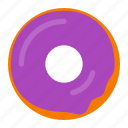 bakery, dessert, donut, doughnut, food, snack, sweet icon