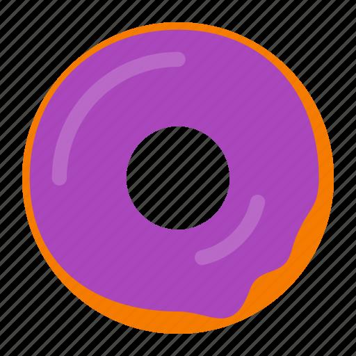 bakery, dessert, donut, doughnut, food, snack, sweet icon